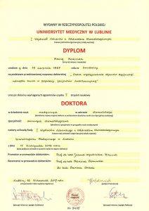 Dyplom doktora